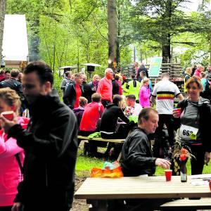Ondanks regendag weer grote deelname aan Landgoed Twente Marathon