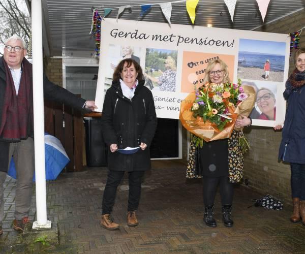 Mantelzorger Gerda Wessels mede door corona met vervroegd pensioen