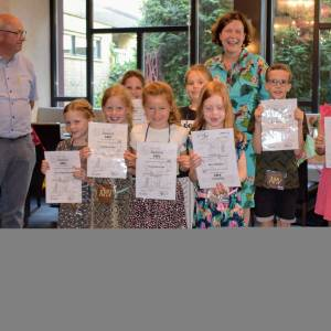Acht leden Harmonie Sint Jan gelauwerd met AMV-diloma's
