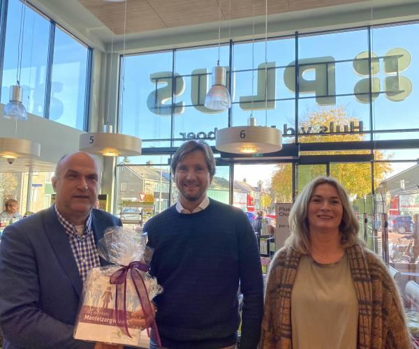 Supermarkt Plus Huls van den Nieuwboer landelijk erkend als mantelzorgvriendelijk bedrijf