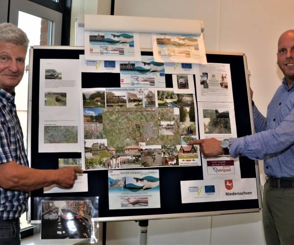Cultuurhistorische route: fietsend en wandelend langs geschiedenis Kanaal Almelo-Nordhorn en omgeving
