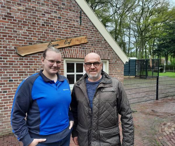 Valkenier Gerrit Zandvoort stopt definitief met de roofvogelshows