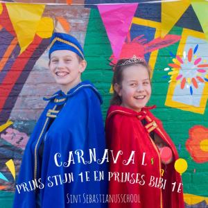 Carnaval op de St. Sebastianusschool in Hellendoorn