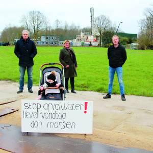 Bewoners omgeving NAM-locatie Tramweg Rossum eisen onmiddellijke stopzetting vuilwaterinjecties