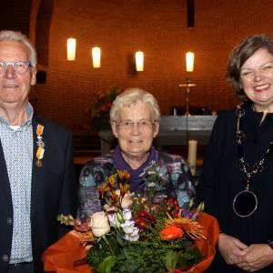 Jan Olthof verrast met Koninklijke Onderscheiding op Ceciliafeest