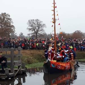 Sinterklaas ook dit jaar weer per boot naar Hellendoorn
