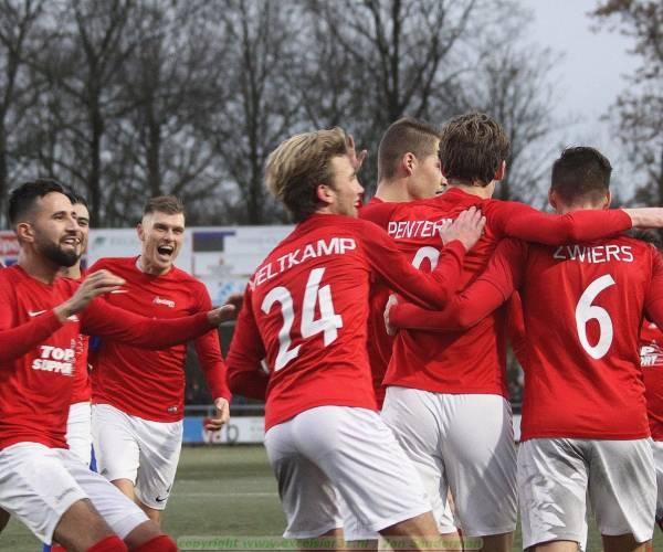 Knappe comeback Excelsior'31 goed voor punt tegen FC Lisse (2-2)
