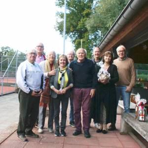 Baanbeheerder Dijkstra nam afscheid van Tennisclub Rijssen: 'Ik begin het werk nu al te missen'