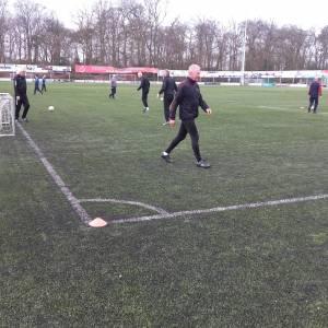 Noodkreet van Regge United Walking Football