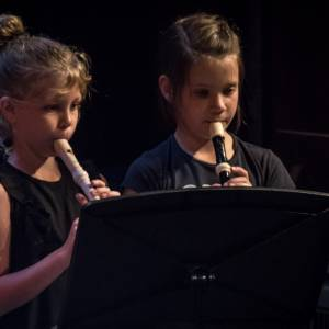 Muziekschool start met korte blokfluitcursus