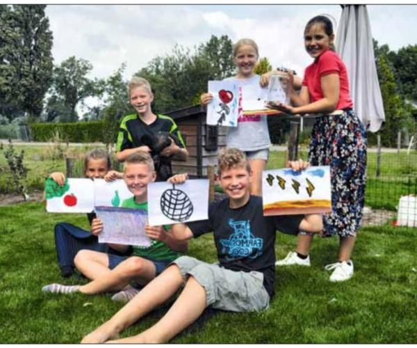 Positief initiatief van kinderen voor kinderen in Overdinkel