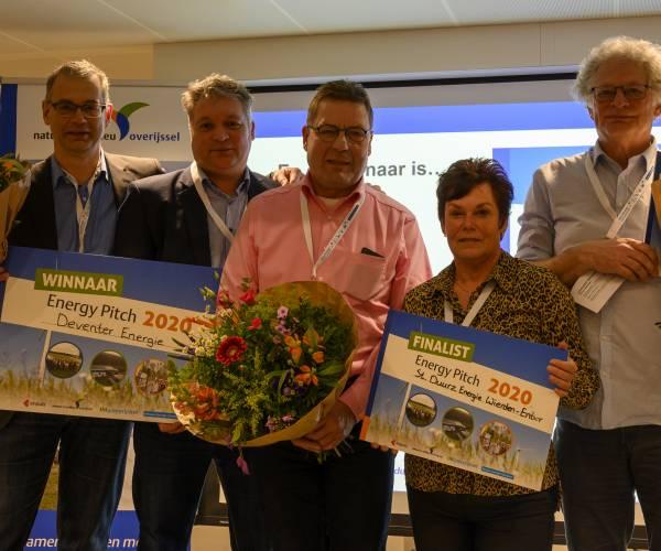 Stichting Duurzame Energie Wierden-Enter wint Energy Pitch dankzij laagdrempelige activiteiten