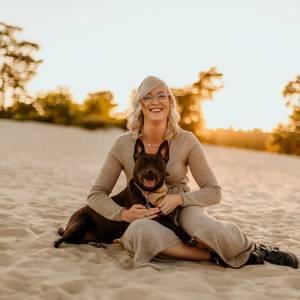 Haar liefde voor Angel brengt Nathalie vreugde in nieuw beroep