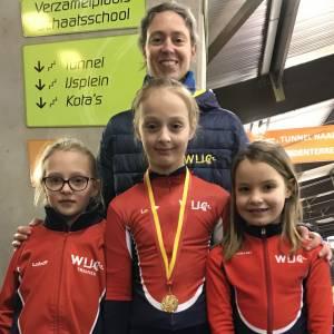 Jonge schaatsers van WIJC scoren persoonlijke records in Deventer