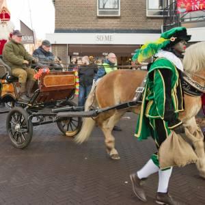 Intocht van Sinterklaas in Wierden
